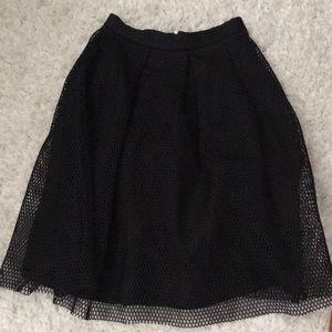 Dresses & Skirts - Over the knee semi pleated skirt